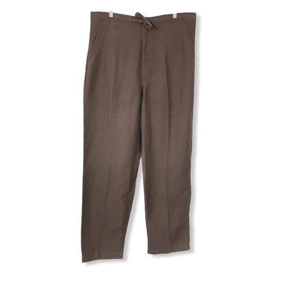 Cubavera NWT Men's Large 36 38 Linen Blend Pants